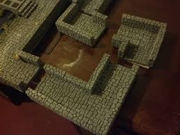Making 3d Dungeon Tiles by Rpgaday Melvin Smif U0027s Geekery