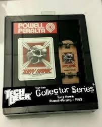 Powell Peralta Tony Hawk Skateboard Decks by Buy Powell Peralta Tech Deck Collector Series Tony Hawk 1983