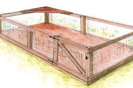 How To Construct A Shaded Dog Run | How-tos | DIY A Backyard Guide Install Dog How To Build Fence Run Ideas Old Plus Kids With Dogs As Wells Ground Round Designs Small Very Backyard Dog Run Right Off The Porch Or Deck Fun And Stylish For Your I Like The Idea Of Pavers Going Through So Have Within Triyaecom Pea Gravel For Various Design Low Metal Home Gardens Geek To A Attached Doghouse Howtos Diy Fencing Outdoor Decoration Backyards Impressive Curious About Upgrading Side Yard