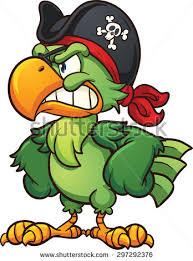 Angry Cartoon Pirate Face Vector Clip Stock Vector