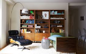 A Colorful And Eclectic Brooklyn Apartment - Home Tour - Lonny Eames Lounge Chair Ottoman Armchair Vitra A Colorful And Eclectic Brooklyn Apartment Home Tour Lonny Replica Vintage Brown Walnut Fniture 9 Smallspace Ideas To Steal From A Tiny Paris By Charles Ray 1956 Pnc Real Estate Newsfeed Lovinna Storage Unit Esu Shelf Stock Photos Herman Miller The Century House Madison Wi Ding Portvetonccom