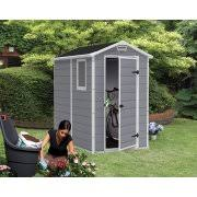 4x6 Outdoor Storage Shed by Keter Manor 4 U0027 X 6 U0027 Resin Storage Shed All Weather Plastic
