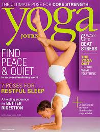 Yoga Journal Magazine Subscription For 499