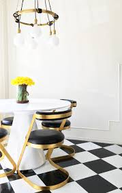 Best Floor For Kitchen And Dining Room by Best Affordable Vinyl Tile Emily Henderson