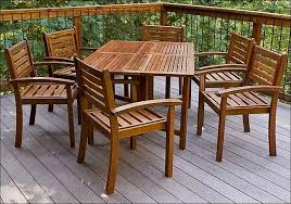 how to build wood patio furniture