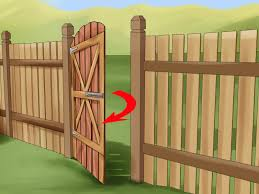 100 Building A Paling Fence How To Build A Wooden Gate 13 Steps With Pictures WikiHow