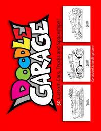 Doodle Garage A Custom Car Coloring Book