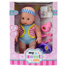 Organic First Baby Doll Blue Apple Park AP976 2696