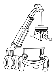 Charmingbeautiful Free Bob The Builder Cartoon Coloring Pages Printable For Kids