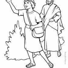 Free Bible Coloring Pages Paul