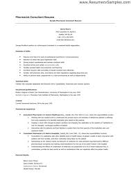 Pharmacy Resume Examples Jobs You Could Use Your Skills And Ability To Get This Dream Job One Of Ways Might T