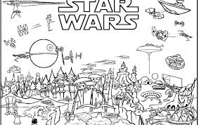 Star Wars Coloring Pages Printable Free For Kids Online