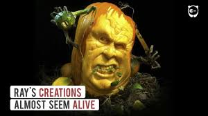 Funny Pumpkin Carvings Youtube by Terrifying Pumpkin Carvings By Ray Villafane Youtube