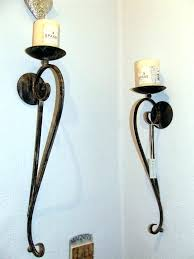 sconce modern black candle wall sconces contemporary ideas