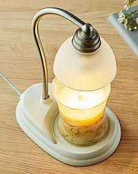 Aurora Candle Warmer Lamp by Aurora Candle Warmer Lamp White J D Williams