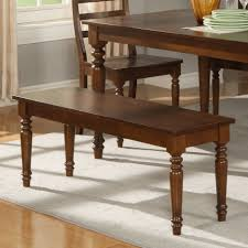 Room Bench Seats Dining Design Idea With Brown Wooden