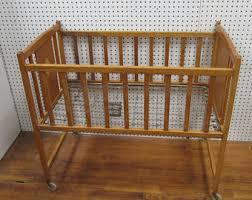 Vintage Kids Cribs & Cradles
