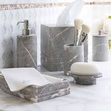 Yellow And Gray Bathroom Accessories by Best 25 Marble Bathroom Accessories Ideas On Pinterest White