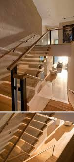 Best 25+ Glass Stair Railing Ideas On Pinterest | Glass Stairs ... Modern Glass Stair Railing Design Interior Waplag Still In Process Frameless Staircase Balustrade Design To Lishaft Stainless Amazing Staircase Without Handrails Also White Tufted 33 Best Stairs Images On Pinterest And Unique Banister Railings Home By Larizza Popular Single Steel Handrail With Smart Best 25 Stair Railing Ideas Stairs 47 Ideas Staircases Wood Railings Rustic Acero Designed Villa In Madrid I N T E R O S P A C