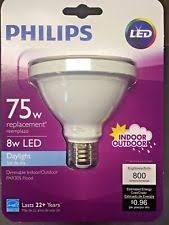 philips 75w equivalent bright white par30l indoor outdoor led