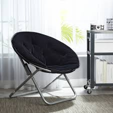 Mainstays Faux-Fur Saucer Chair, Available In Multiple Colors Mainstays Cambridge Park Wicker Outdoor Rocking Chair Folding Plush Saucer Multiple Colors Walmartcom Mahogany With Sling Back Natural 6 Foldinhalf Table Black Patio White Solid Wood Slat Brown Shop All Chairs