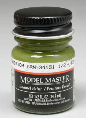 Testors 1715 Interior Green 1/2oz FS34151
