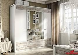 kleiderschrank 110013 schlafzimmerschrank 4 türig weiß