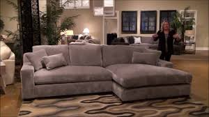 Ashley Hodan Microfiber Sofa Chaise by Billie Jean Large Sectional Sofa With Double Chaise By Fairmont