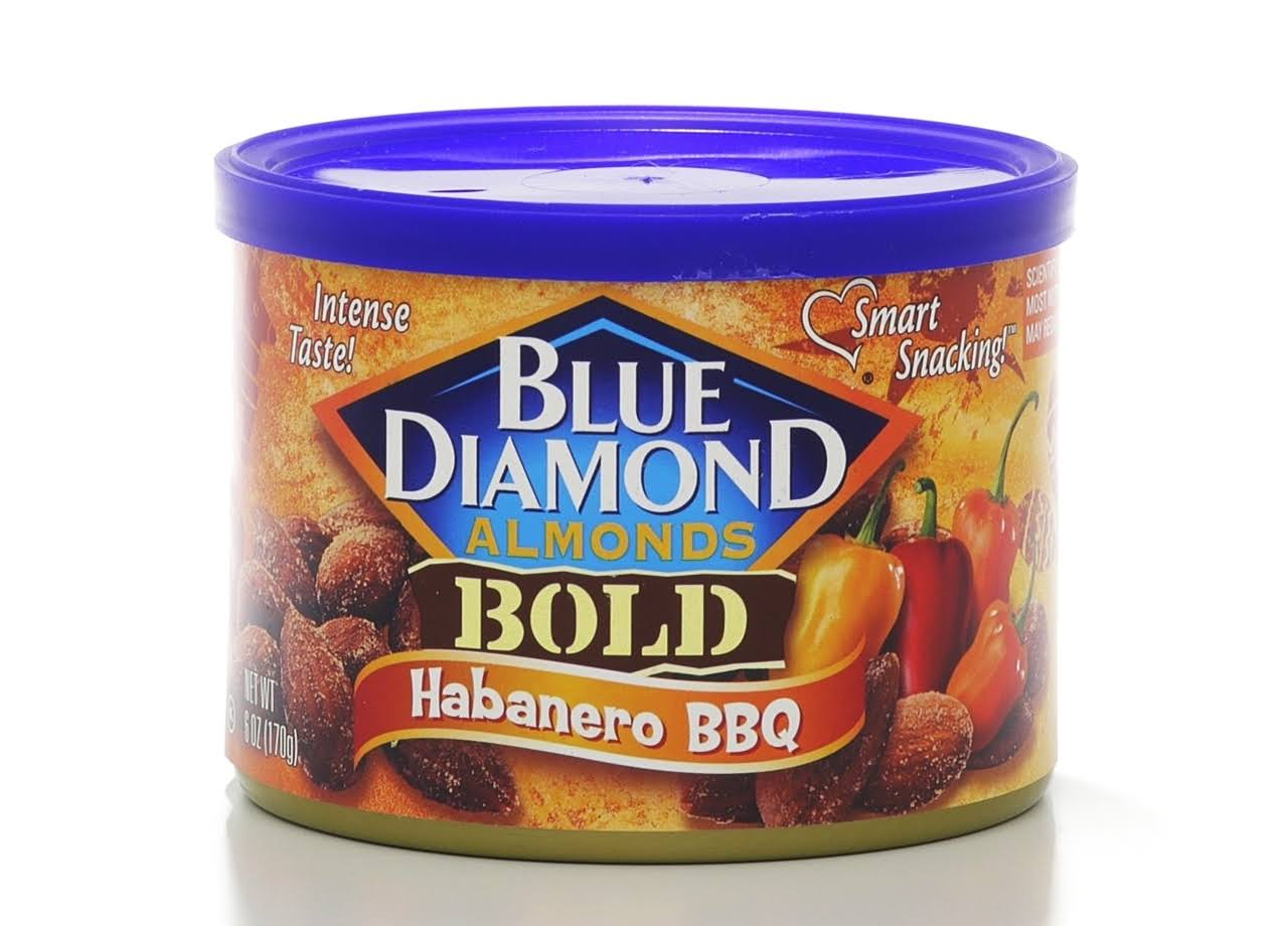 Blue Diamond Bold Almonds - Habanero BBQ, 6oz
