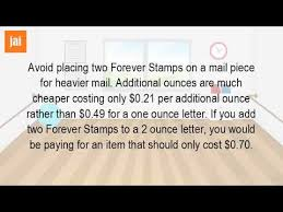 How Many Forever Stamps Does It Take To Mail A Letter