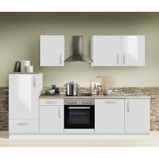 küche premium weiss hochglanz manchester 87 inklusive e geräte geschirrspüler 280cm
