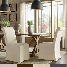 Potomac Slipcovered Rolled Back Parsons Chairs (Set Of 2) By INSPIRE Q  Artisan Catherine Parsons Ding Chair Set Of 2 By Inspire Q Bold Marvellous Chairs Upholstered Room Skirted Magnificent Tufted Beige Plaid Black Kitchen Design Covers Target Parson Home Decor Appealing Slipcovers For Combine Stunning Table White Marble Outstanding Terrific Your House Grey 1 Ef92fc1fbc3af2839c49d38657jpg Ideas And Inspiration Gray Gray Choosing A Inspiring Fniture Collections Formal