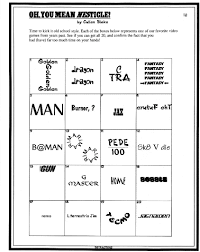 Halloween Brain Teasers Worksheets by Pinteres U2026