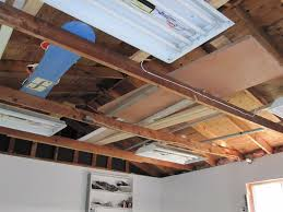 Insulating Cathedral Ceiling With Rigid Foam by Insulation Options For Garage Ceiling Pics