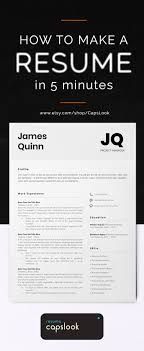 Instant Download Resume Template Word Curriculum Vitae Basic MS