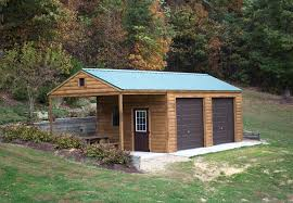 Shed Plans 8x12 With Porch by 14x30 Storage Shed Relax On A Full Length Porch Byler Barns