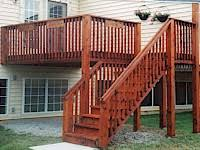 wood fences decks with readyseal wood stain sealer