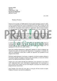 emploi chef de rang lettre de motivation pour un emploi de chef de rang confirmé