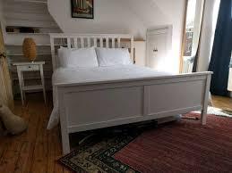 king size ikea hemnes bed sultan mattress in holloway