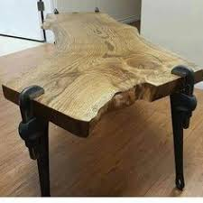 how to make rustic end tables woods wood projects and wood slab