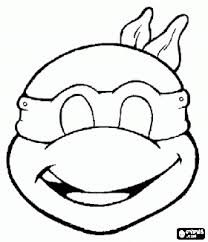 Printable Tmnt Pumpkin Stencil by Ninja Turtle Mask Color And Print Cut Out And You U0027ve Got A Mask