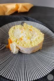 biskuitrolle mandarine 3 avocadosalat rezept kochen und