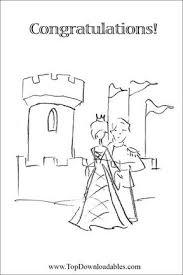 Free Printable Wedding Medieval Invitation Decoration Templates