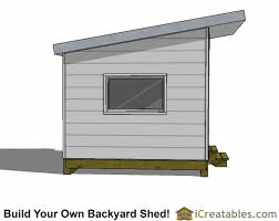 Shed Plans 8x12 Materials by 10x10 Studio Shed Plans 10x10 Office Shed Plans Modern Shed