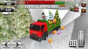 100 Driving Truck Games Christmas Tree Transporter Virtual Apps