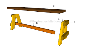how to build a bench seat howtospecialist how to build step