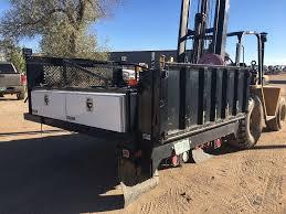 100 Truck Bed Ramp 4 Tool Boxes Eagle Lift Rail Lift Clayton Equipment 86w X 48