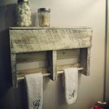 12 DIY Creative Wood Pallet Ideas Towel RackTowel