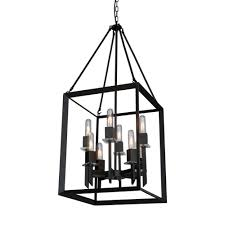 Lowes Canada Table Lamps by Artcraft Lighting Ac10068 Vineyard 8 Light Rectangular Chandelier