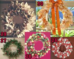 Recycled Upcycled Christmas Craft Kids Decoration Decor DIY Wreath Tutorials